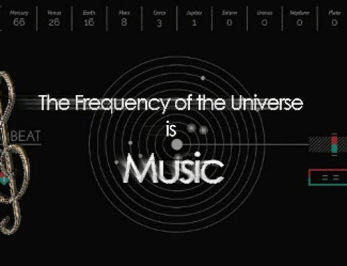 התדר של היקום הוא מוסיקה