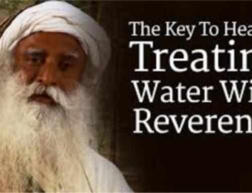לפני שאתם שותים מים…