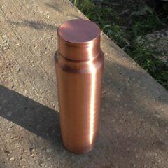 בקבוק מים מנחושת טהורה 1 ליטר